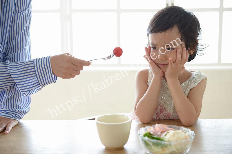 食べても太れない女の子