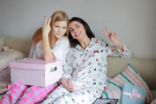 意外に軽視されがちな寝る時の衣服ですが、寝る時に着ることを考えられ開発されたパジャマが最高!