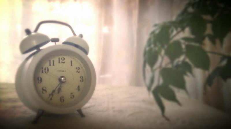夜中に目が覚めてから結局眠れずに朝になってしまった。。