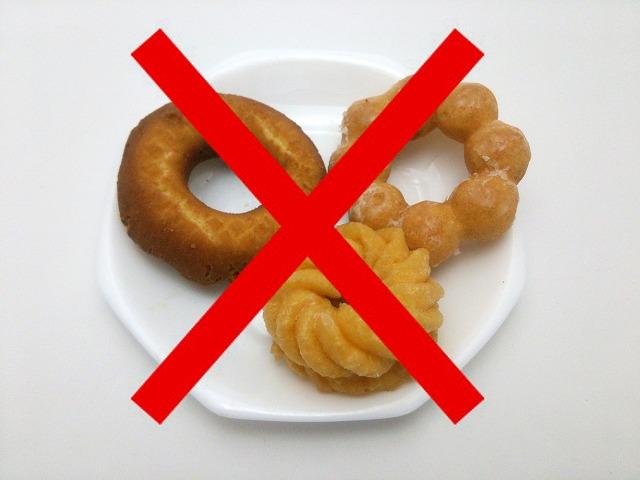 断食の1日目は、体に断食を始めることを教えてあげる日です。脂質や糖質が高い食品は食べないように注意しましょう。