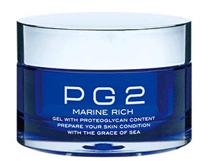 PG2 マリーンリッチは卵殻膜を高配合したオールインワンジェルです。