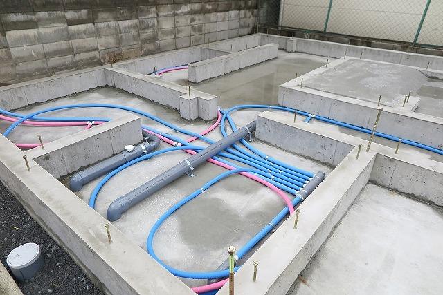 新築時の配管工事