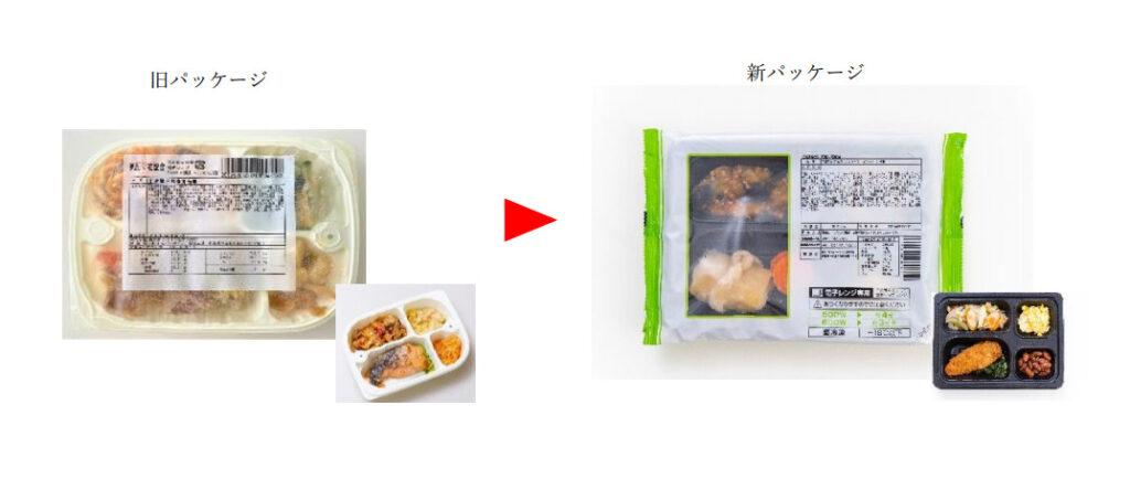 まごころケア食の容器サイズが変更になりレンジの加熱時間が短くなった!