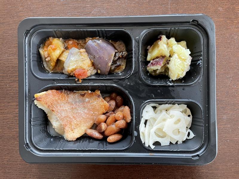 まごころケア食の赤魚の塩麹焼き弁当を食べてみた感想・実食レポ